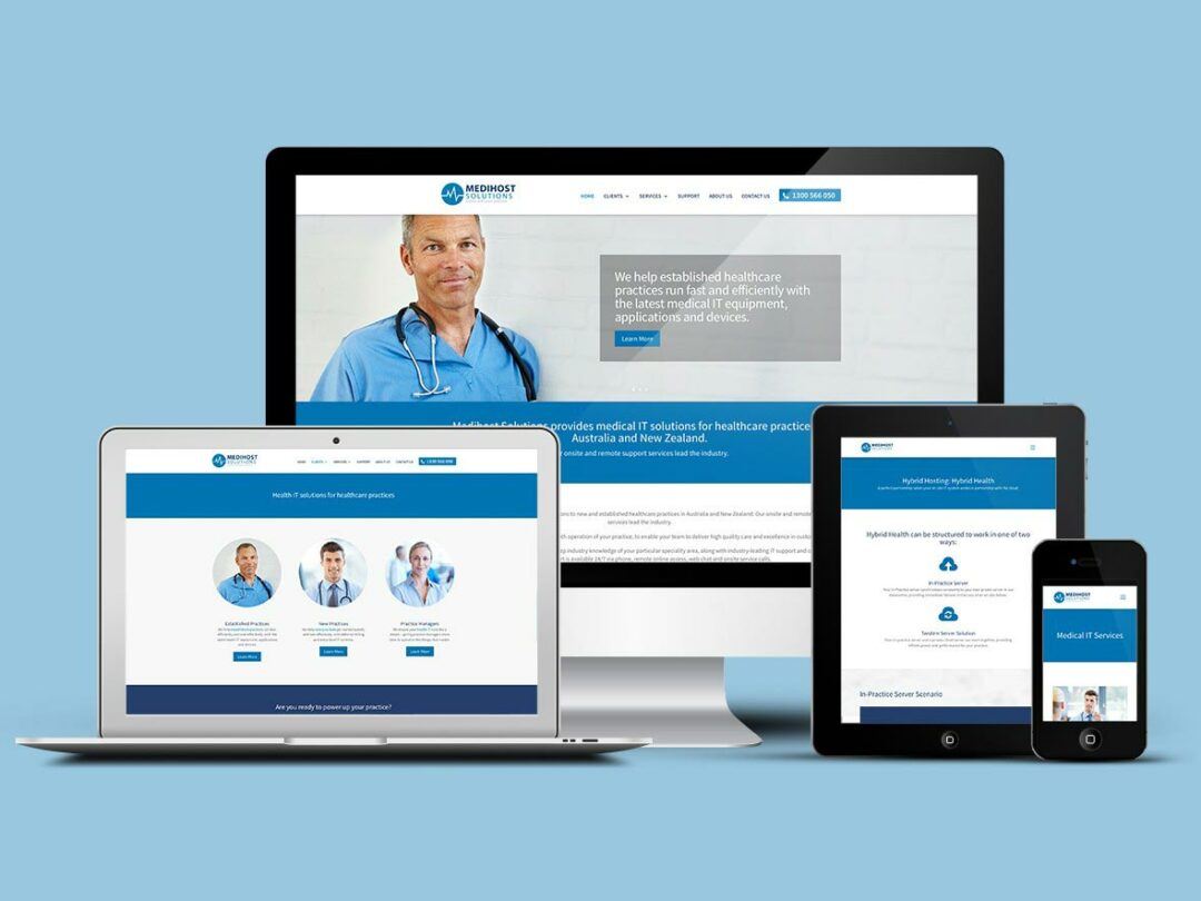 Medihost Solutions gets a brand new look