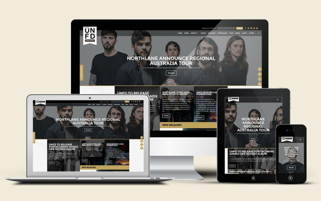 Live Music Hub for UNFD