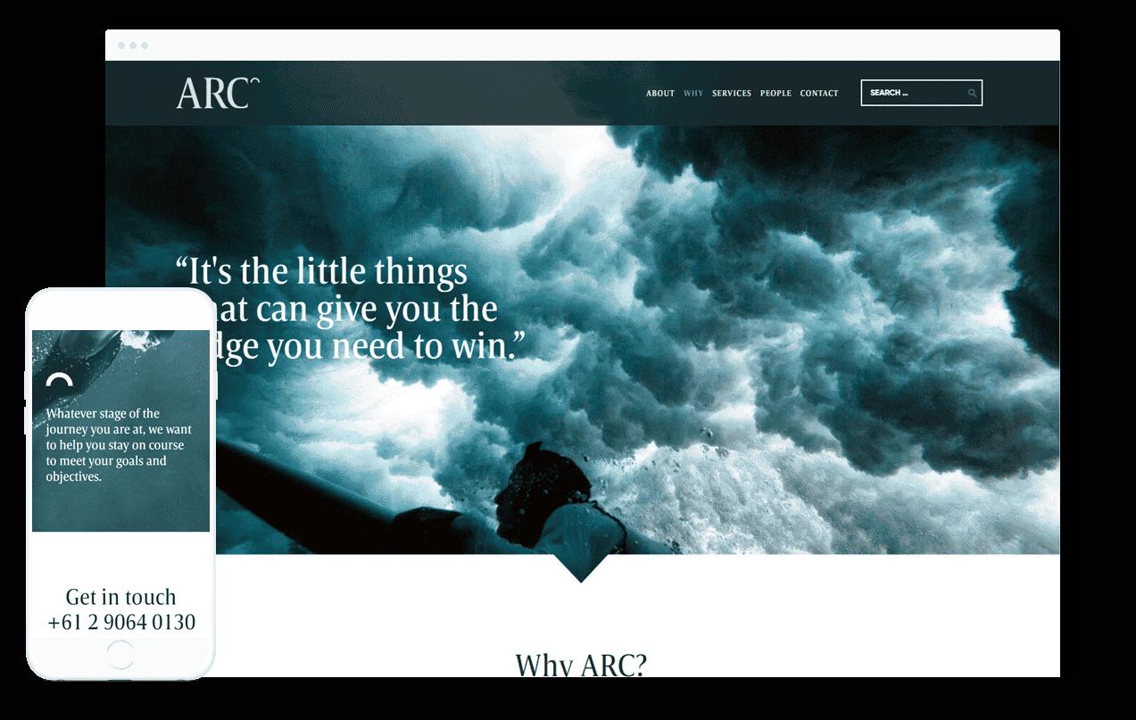 Finance Business Website Design