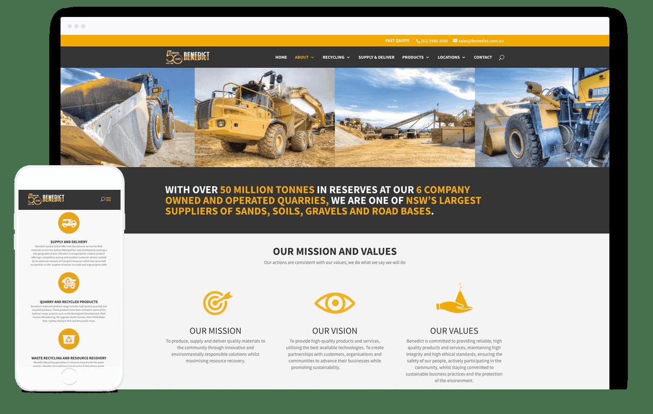 Waste Management Website Design