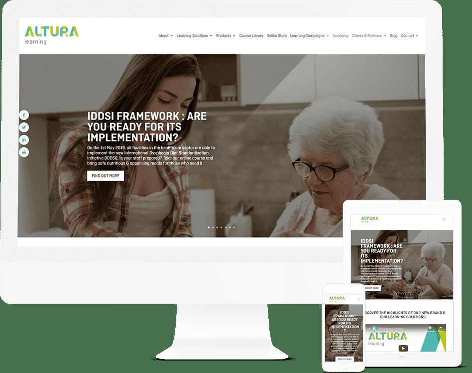 Pixel Fish - Altura - Website Client