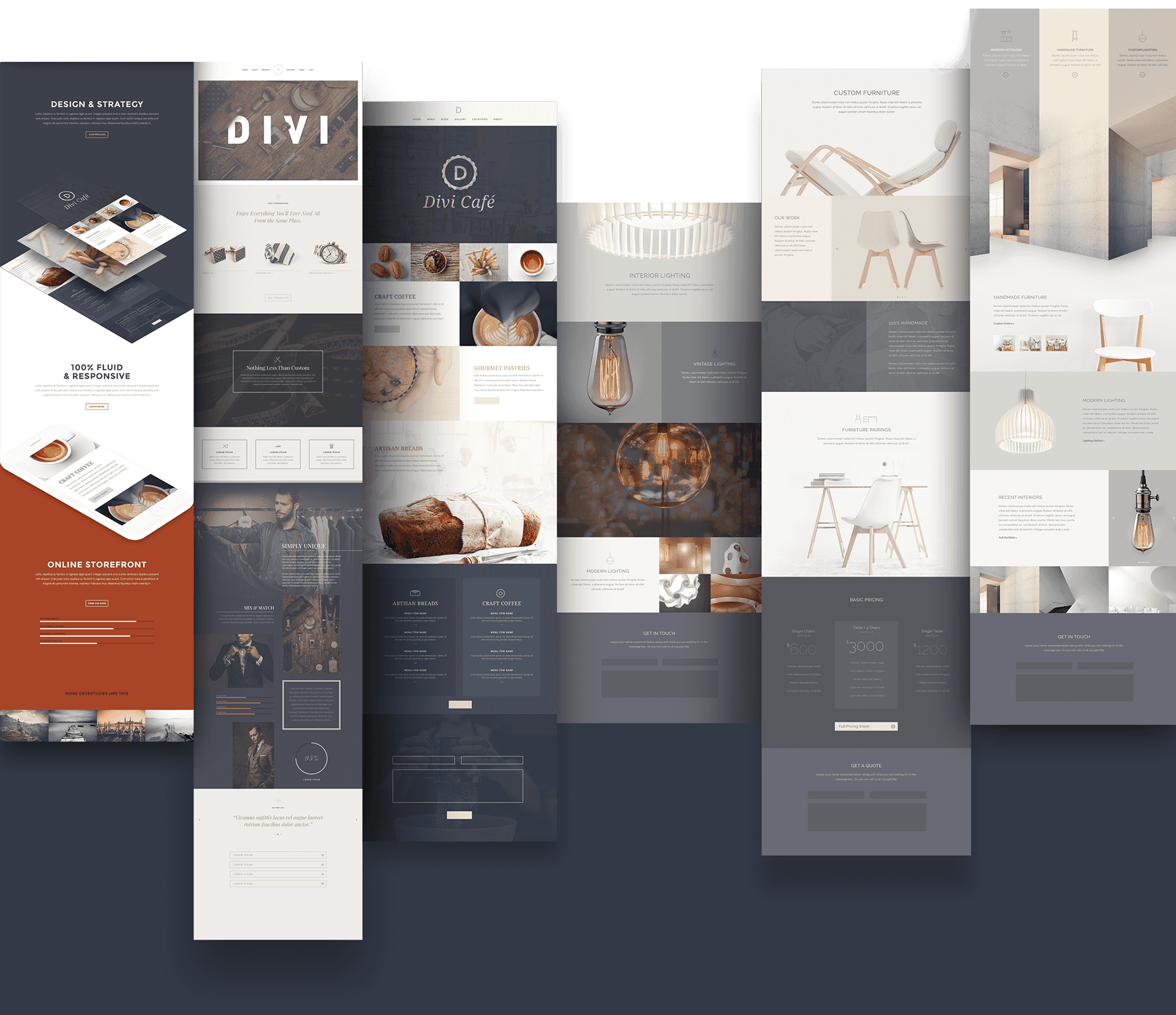 Web Design Themes - Elegant Themes Divi WordPress Theme