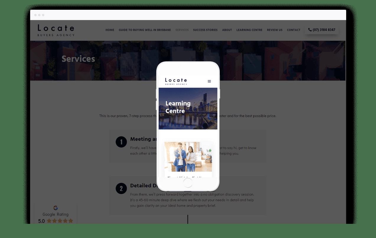 Buyers Agent Website Design