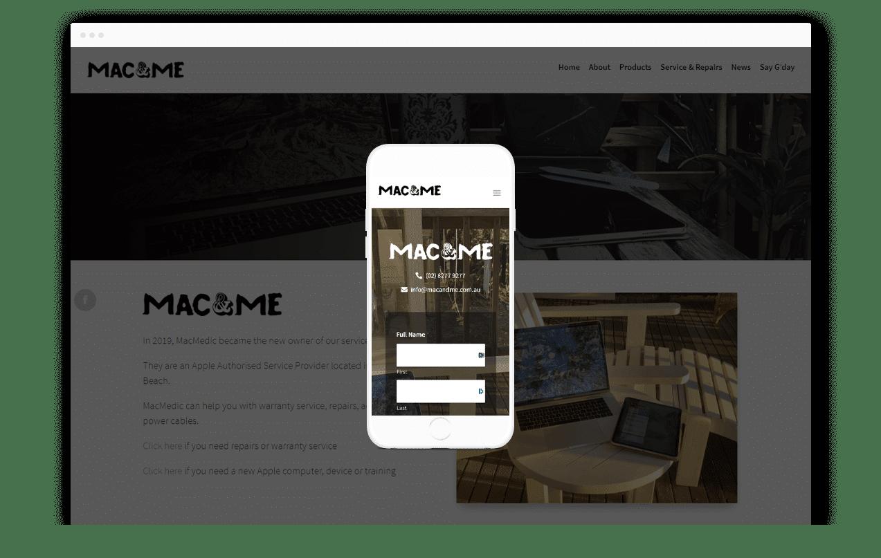 Computer Services Website Design