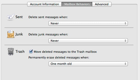 mailbox-behaviours