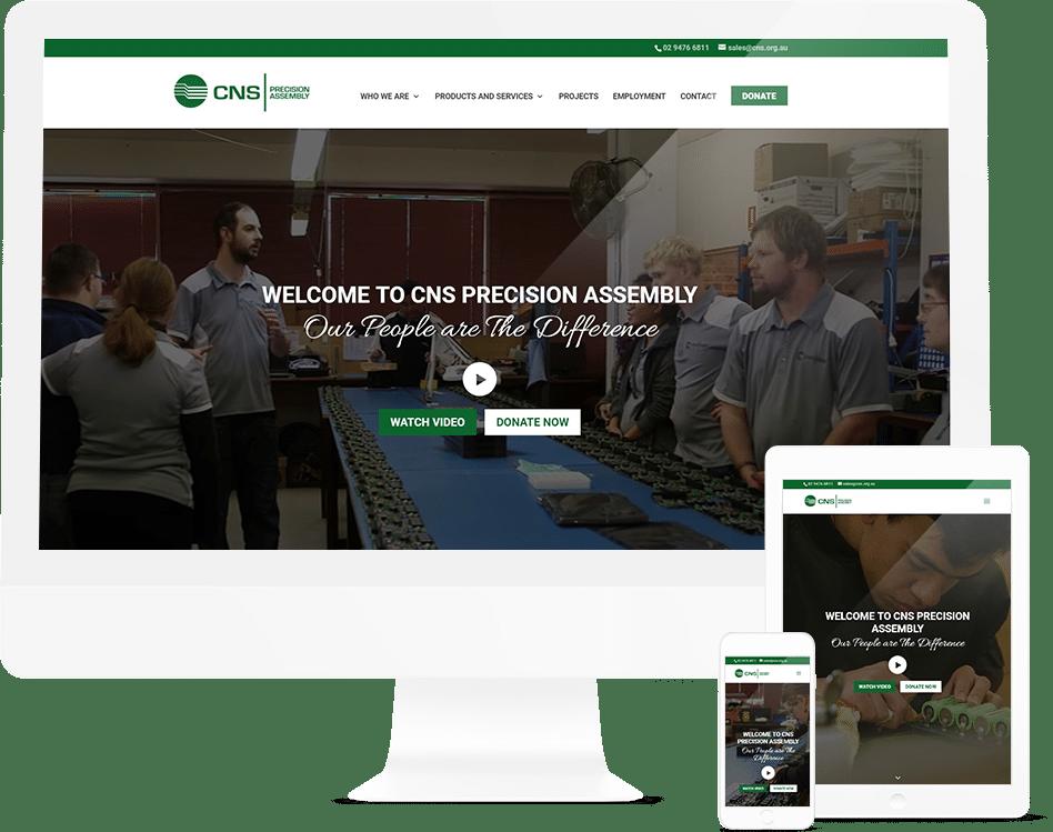 Sargood - Not For Profit Web Design