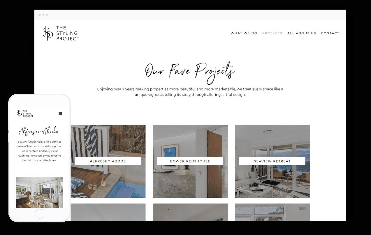 Property Styling Website Design